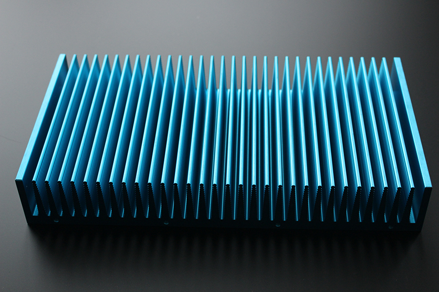 Extrusion heat sink 08