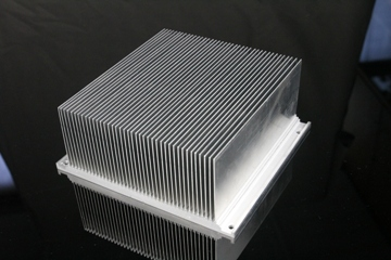 Bonded fin heat sink 01