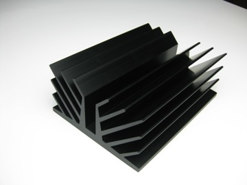 Extrusion heat sink 01