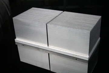 Bonded fin heat sink aluminium Bonded fin heat sink