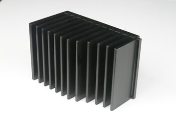 Extrusion heat sink 02